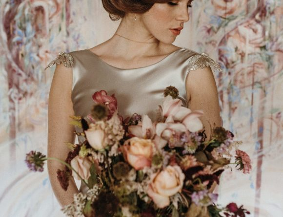 An Ethereal Art Nouveau Inspired Bridal Shoot