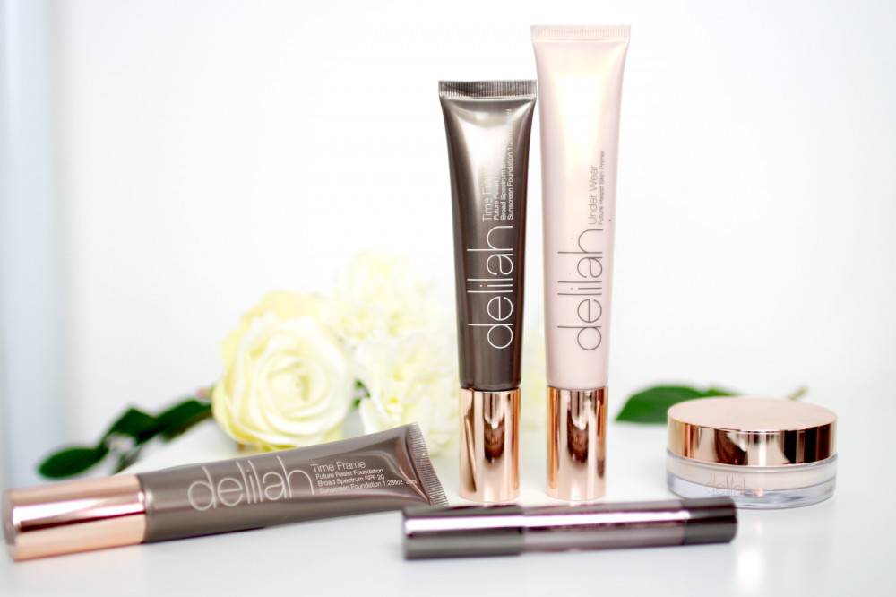 Vegan and cruelty free bridal makeup that is long lasting and looks beautiful - image courtesy of delilahcosmetics.com #bridalskin #bridalfoundation #vegan #crueltyfree #affliate