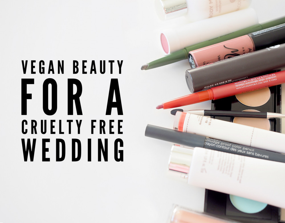 Vegan and cruelty free makeup for brides - Image courtesy of Unsplash #vegan #veganbeauty #crueltyfreewedding