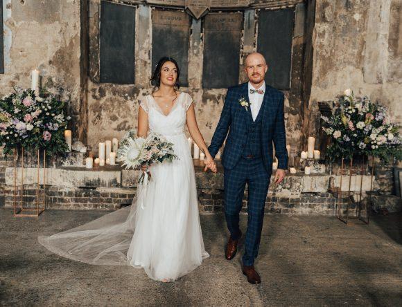 A Modern Vintage London Wedding