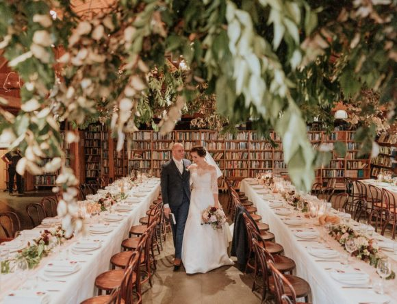 A Book Lovers' Wedding in Australia