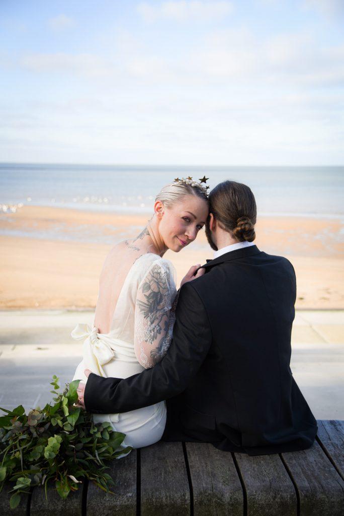 modern-beach-wedding-bride-and-groom