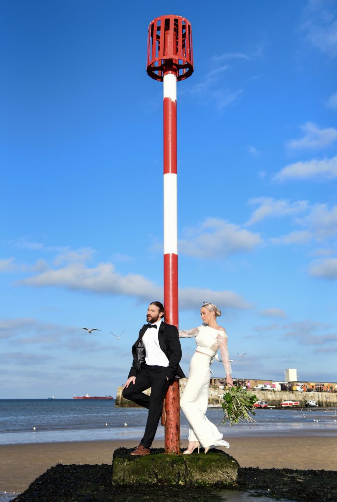 margate-beach-bride-and-groom