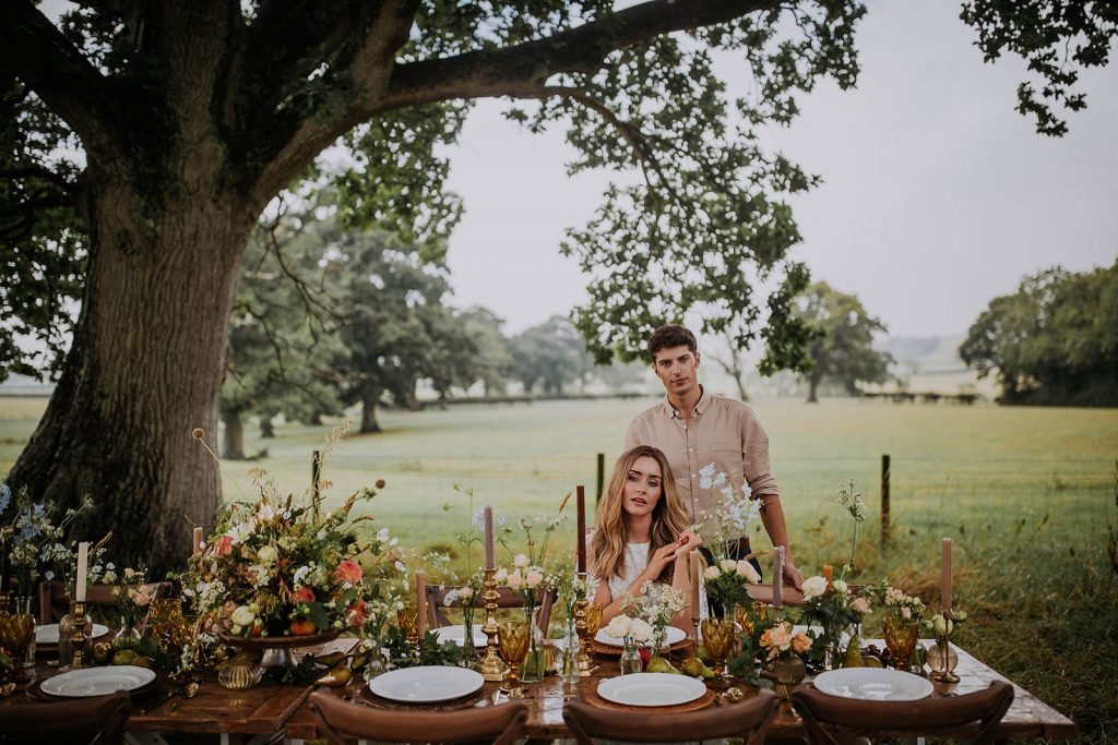 harvest-inspired-outdoor-wedding-table-décor