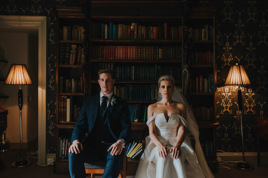 scottish-castle-wedding-bride-and-groom