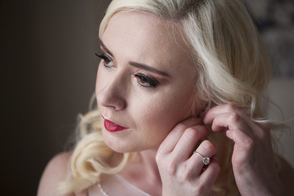 classic-wedding-makeup-with-red-lip