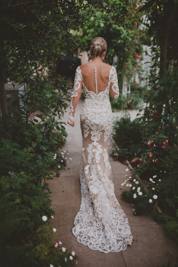 riki-dalal-nude-illusion-lace-wedding-dress-with-elegant-textured-updo