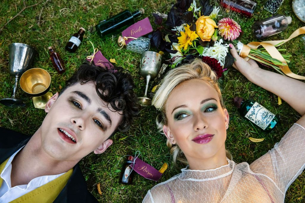 colourful-wedding-makeup-with-bold-pink-lip