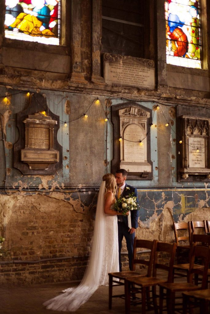 bride-and-groom-asylum-chapel-wedding-ceremony