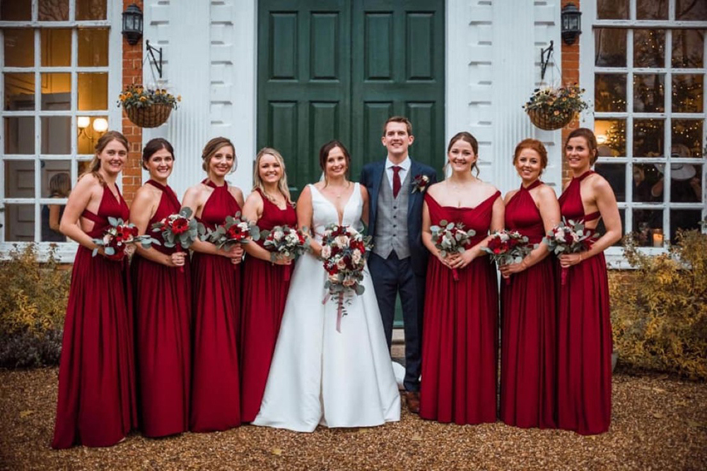 winter-wedding-bridesmaid-dresses