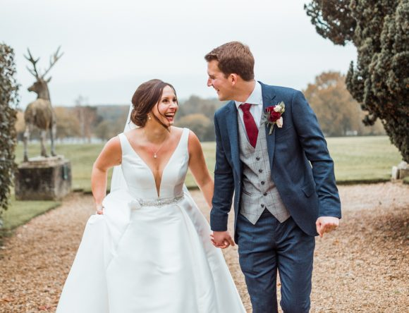 A Regal Winter Wedding