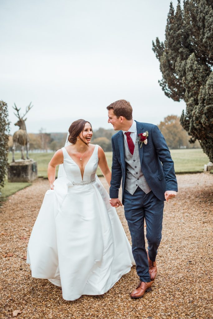 bride-and-groom-winter-wedding-gosfield-hall