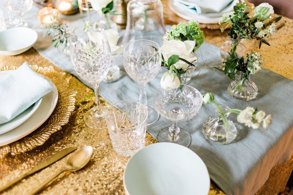 cut-glass-wine-goblets-for-mint-and-gold-luxury-wedding-décor