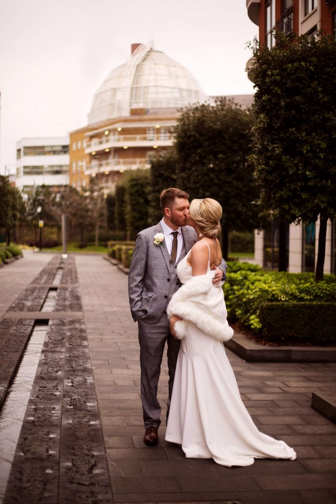 london-city-wedding-bride-and-groom