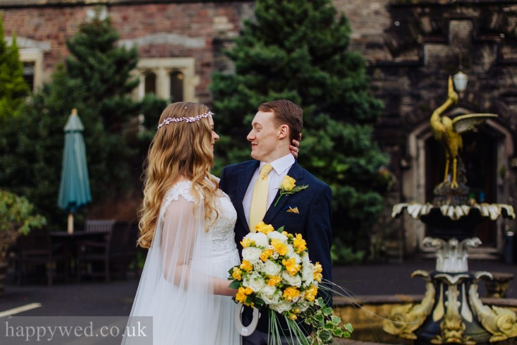 boho luxe castle wedding in wales