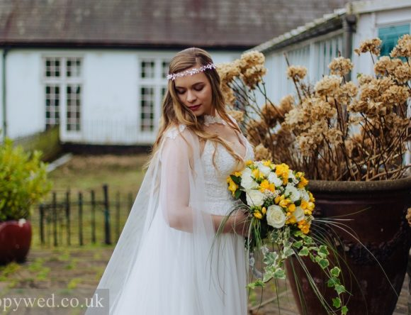 A Boho Luxe Castle Wedding in Wales