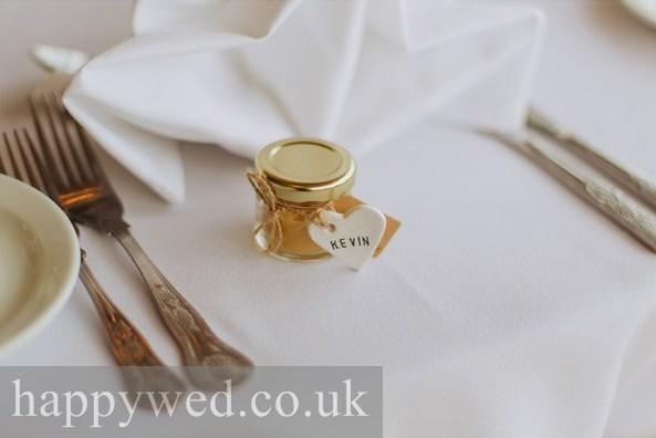 homemade wedding favour