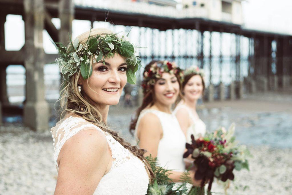 boho beach brides