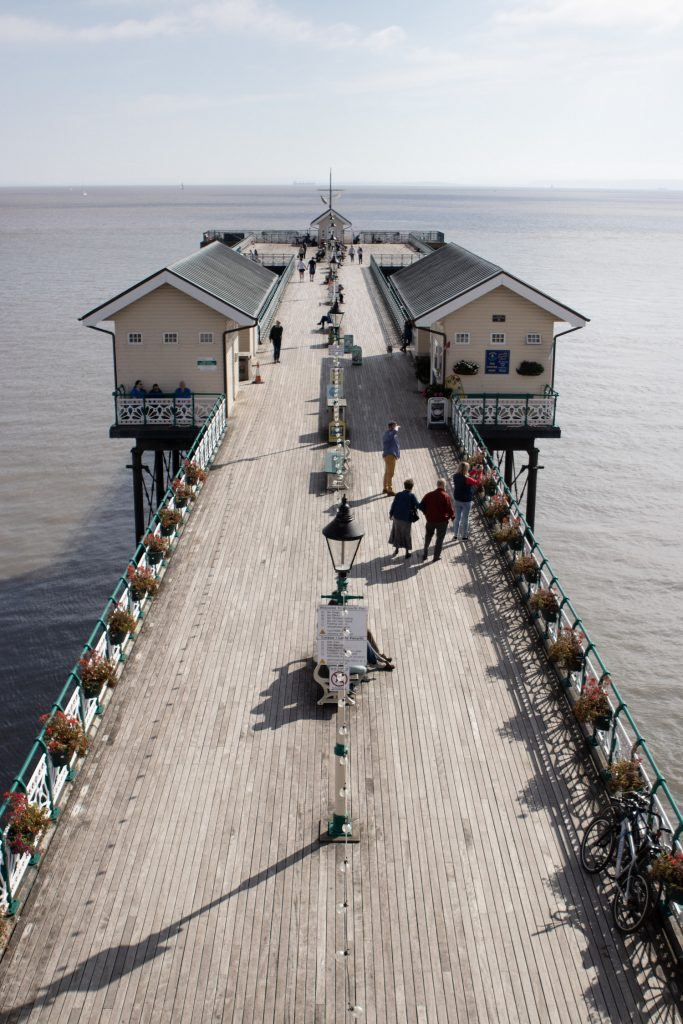 penarth pier south wales