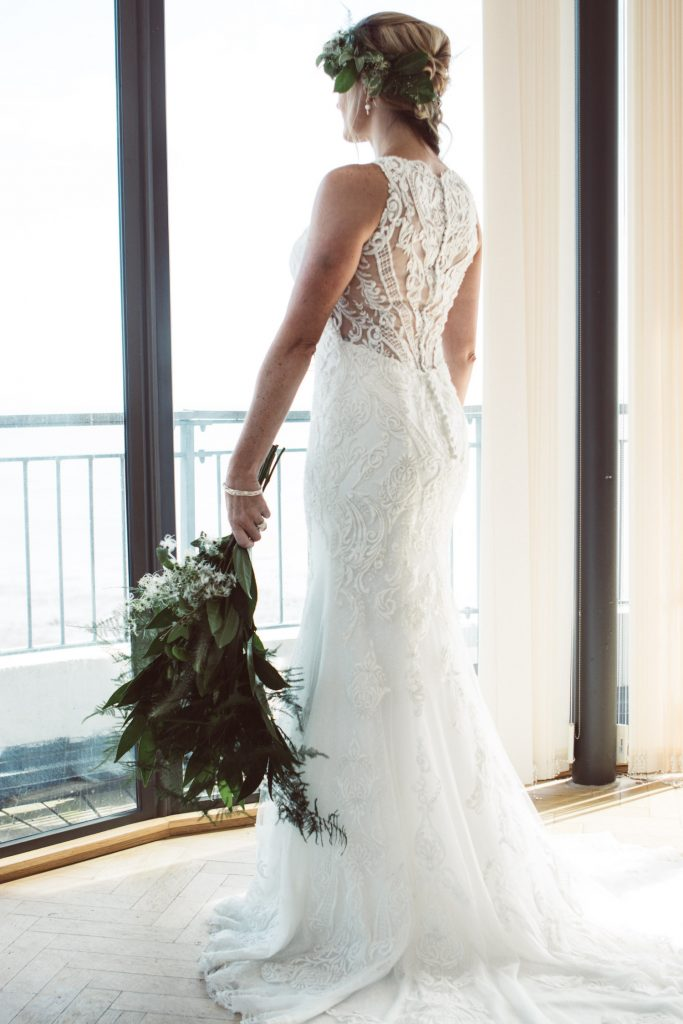 cocomio lace illusion wedding dress