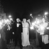 A Festive Black Tie Wedding