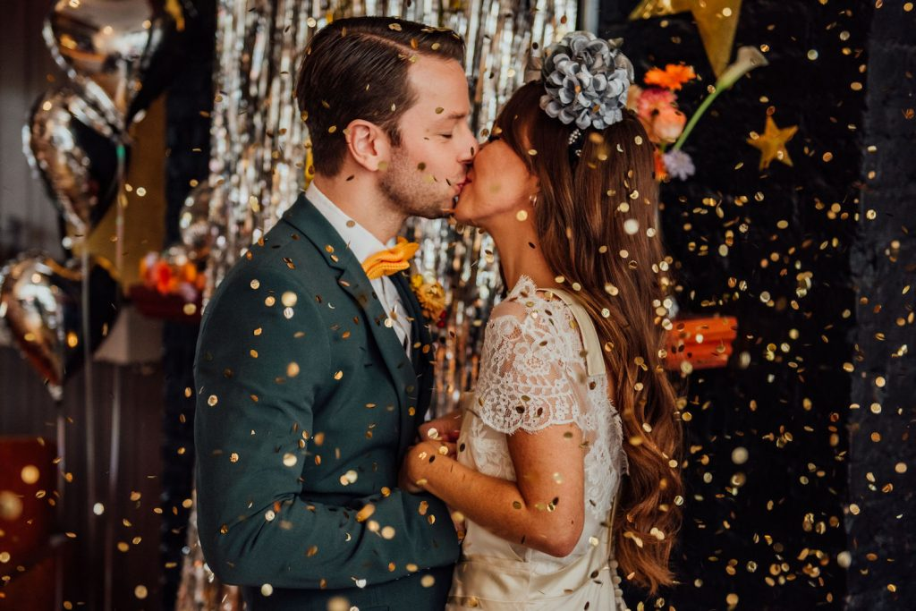 1970s disco inspired styled shoot