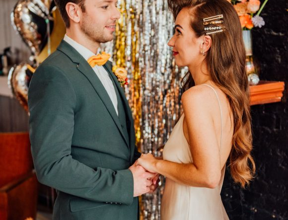 A 1970s Disco Inspired Styled Shoot
