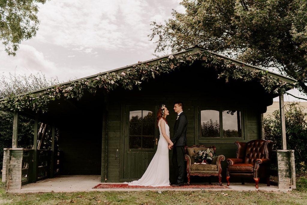 Knighton House wedding styled shoot