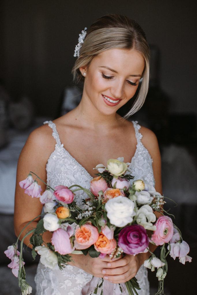 naturally radiant bridal hair and makeup