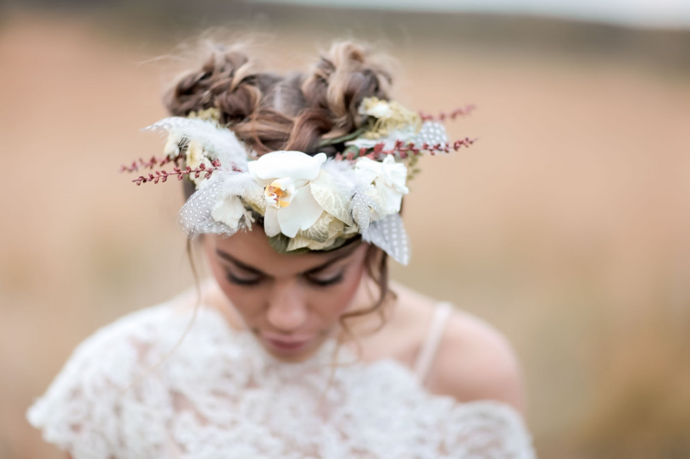 Wedding Hairstyles for Festival Brides - Space buns