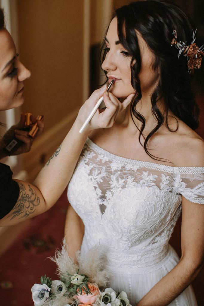Beauty Ninjas wedding makeup