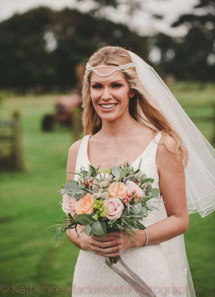 Wedding Hairstyles for Festival Brides - hair chain