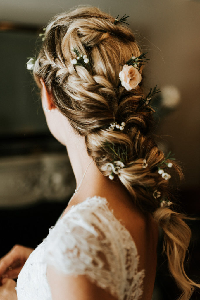 Wedding Hairstyles for Festival Brides - braid