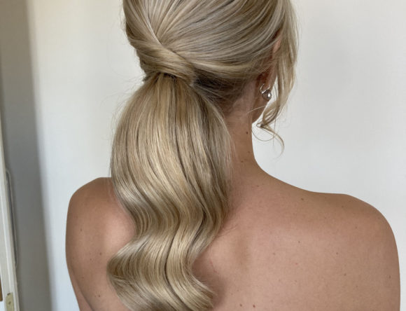 Can a Bride Wear a Ponytail?